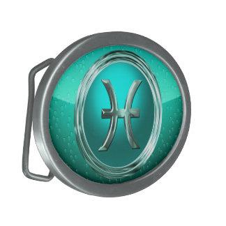 Pisces Astrological Sign Belt Buckles