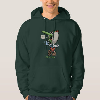 Pistachio Hooded Pullover