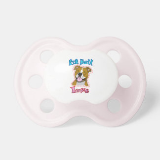 Pit Bull Love Pacifiers