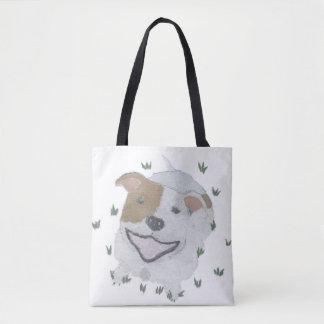 Pit Bull Terrier, Pittie, Pitbull, Dog Tote Bag