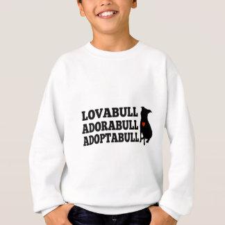 Pitbull Dog Lovabull Adorabull Adoptabull T-shirt