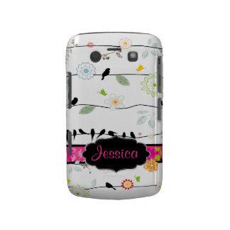PixDezines Birds on Wires/DIY colors! Blackberry Bold Covers