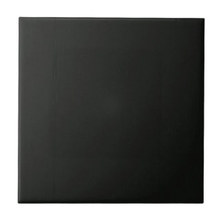 Plain Blank Black Grey DIY add quote text photo Small Square Tile