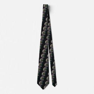 PLANET JUPITER'S MOON GANYMEDE star background ~ Tie