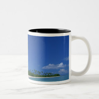 Plantation Island Resort, Malololailai, Mamanuca Two-Tone Mug