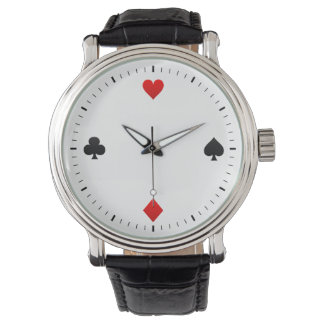 playing card suits collection watch