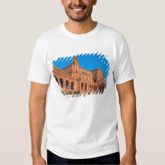 Plaza de Espana in Seville, Spain. Shirts