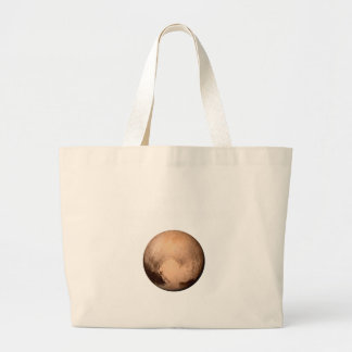 PLUTO FOR PLANETHOOD - JOIN THE CAMPAIGN! (space) Jumbo Tote Bag