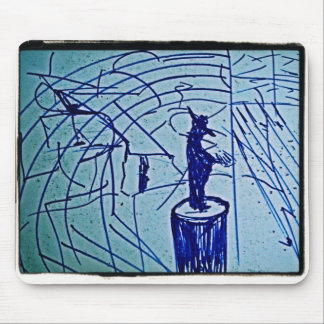 POINT MAN MOUSE PAD