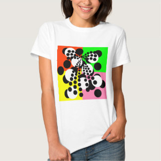 polka-dots design t shirts
