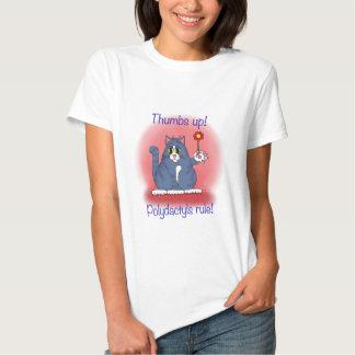 Polydactyls Rule! Tshirts