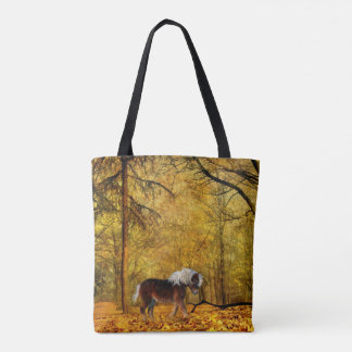 Pony or small draft horse tote bag