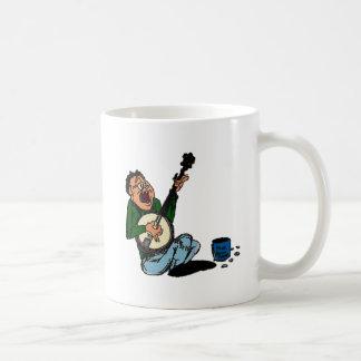 Poor Banjo Picker Basic White Mug