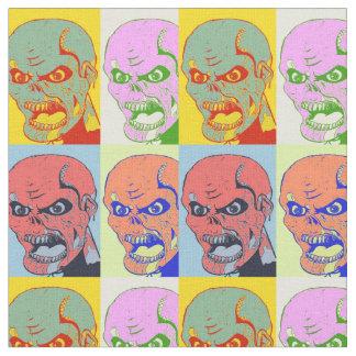Pop Art Zombies Fabric
