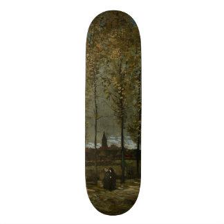 Poplars Near Nuenen by Vincent Van Gogh Skateboard Decks