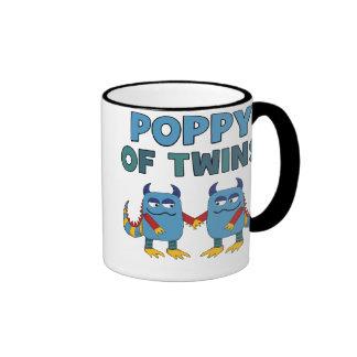 Poppy of Twins Ringer Mug
