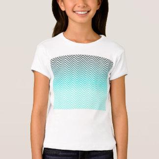 Popular turquoise Zigzag Chevron Retro Vintage T-shirt