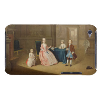Portrait of a Group of Children, c.1743 (oil on ca Barely There iPod Cases