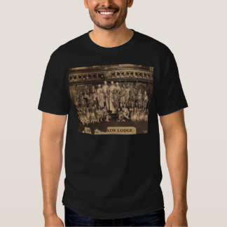 Portrait of Freemasons of the Anglo-Saxon Lodge T-shirts