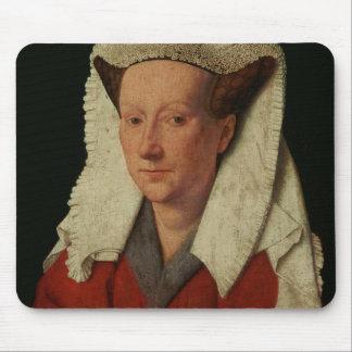 Portrait of Margaret van Eyck, 1439 Mouse Pad