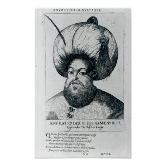 Portrait of Murad III Poster
