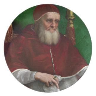 'Portrait of Pope Julius II' Plates