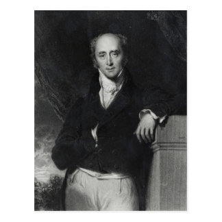 Portrait of the Right Honourable Charles Grey Postcard