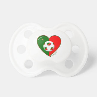 """""""PORTUGAL"""" Soccer Team. Portuguese soccer 2014 Pacifiers"""