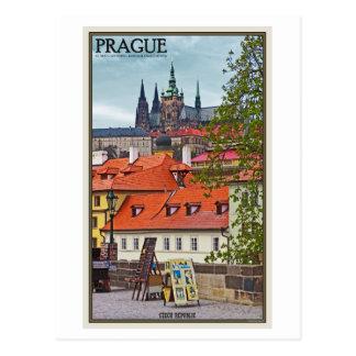 Prague - St Vitus Cathedral Postcard