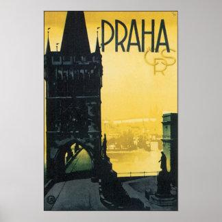 Praha Poster