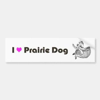 prairiedog sketch (sketch of prairie dog) bumper sticker