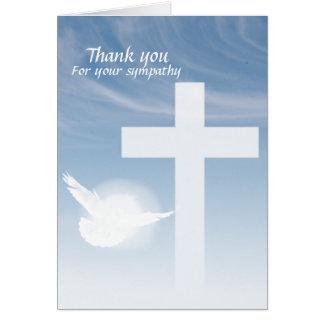 Prayer Thank you Greeting Card