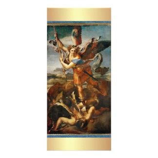Prayer to Saint Michael the Archangel Full Color Rack Card