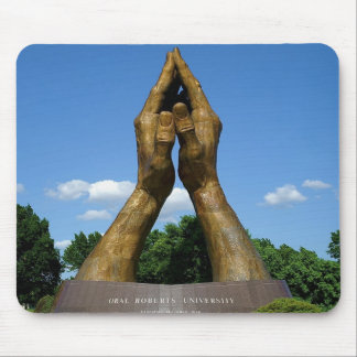 Praying Hands Mouse Pad