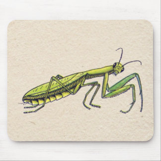 Praying Mantis Mouse Pad
