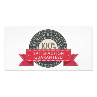 Premium Bachelor Photo Card Template