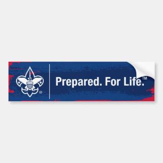 Prepared. For Life Bumper Sticker