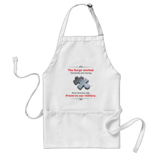 Preserve Our Military Standard Apron