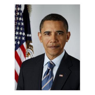 President Barack Obama in 2009 Postcard