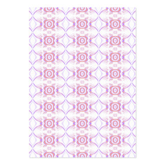 Pretty Pink Floral Pattern. Pack Of Chubby Business Cards