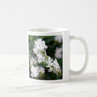 Pretty White Flowers Basic White Mug