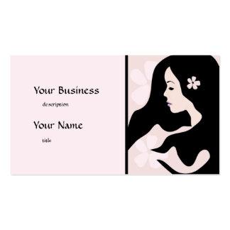 Pretty Woman Blush Beauty Business Card