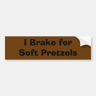 Pretzels Bumper Sticker