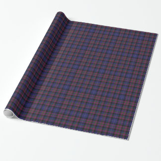 Pride of Scotland Tartan Plaid Wrapping Paper
