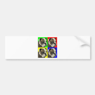 Primary Bulldog Bumper Sticker
