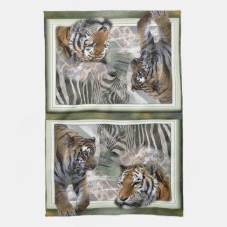 Primitive Jungle Print Towel