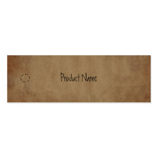 Primitive Paper Hang Tag Pack Of Skinny Business Cards