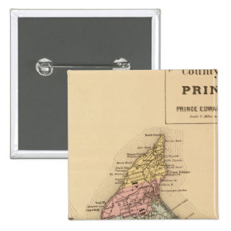 Prince Co, PEI 15 Cm Square Badge
