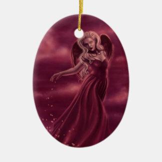 Princess of Hearts Oval Ornament