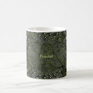 Products with Fractal Image Basic White Mug